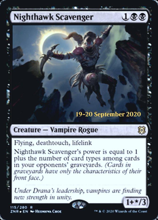 Nighthawk Scavenger - Foil - Prerelease Promo