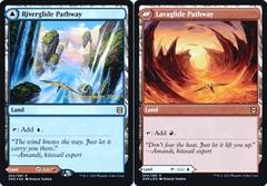 Riverglide Pathway // Lavaglide Pathway - Foil - Prerelease Promo