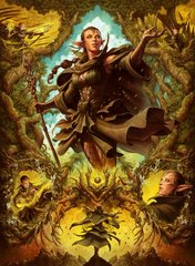 06 Nissa of Shadowed Boughs Art Card