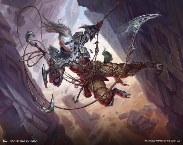 Akiri Fearless Voyager Art Card - Singles - Magic  Art Series Zendikar  Rising - Wild Things Games