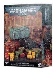 Battlezone: Manufactorum Munitorum Armoured Containers