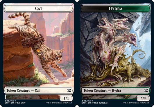 Cat Token // Hydra Token - Foil