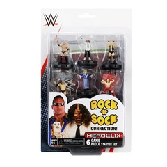 WWE HeroClix: The Rock and Sock Connection 2-Player Starter Set