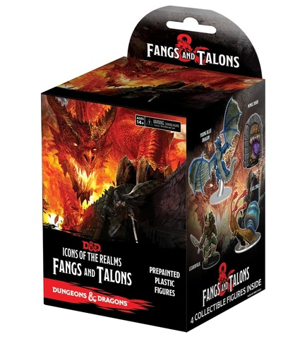 D&D Icons of the Realms: Fangs & Talons Booster