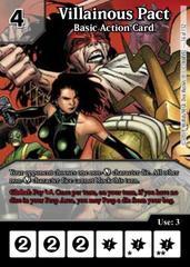 Villainous Pact: Basic Action Card