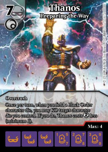 Thanos: Preparing the Way - Foil