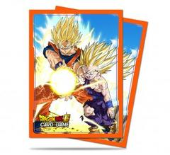 Ultra Pro - Dragon Ball Super: Standard Size Deck Protector 65Ct - Father-Son Kamehameha