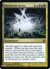 Maelstrom Nexus - The List
