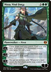 Nissa, Vital Force - Foil - Promo Pack
