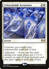 Unbreakable Formation - Foil - Promo Pack