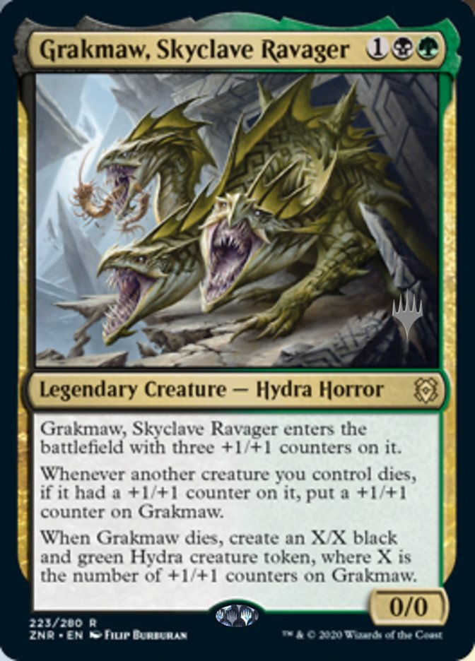 Grakmaw, Skyclave Ravager - Promo Pack