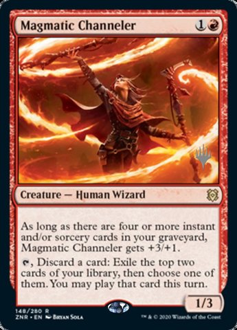 Magmatic Channeler - Foil - Promo Pack