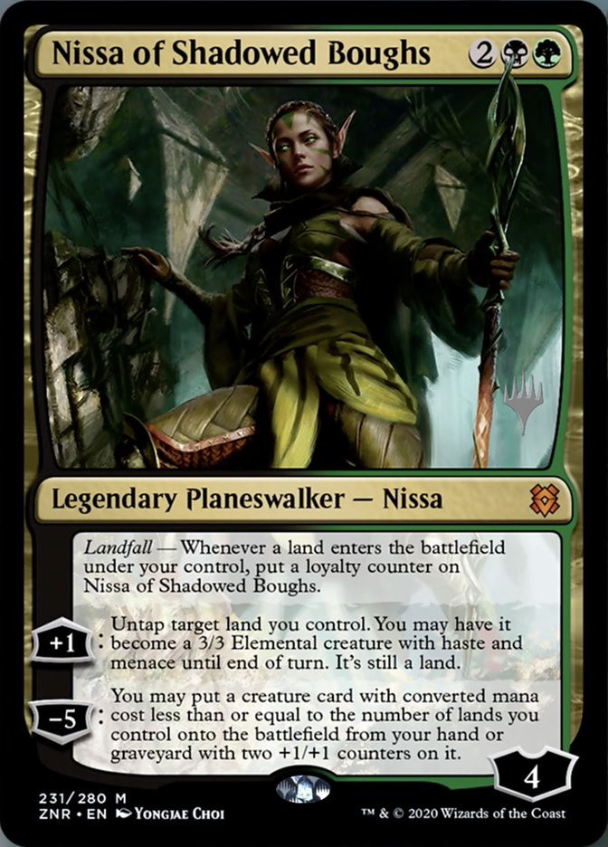 Nissa of Shadowed Boughs - Promo Pack