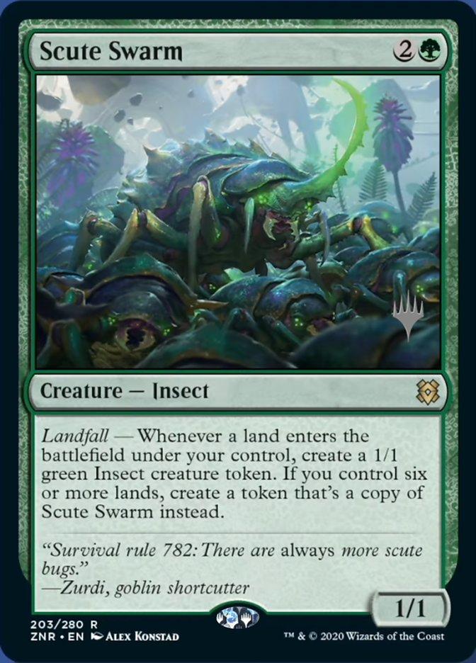 Scute Swarm - Foil - Promo Pack