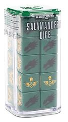 Salamanders Dice Set
