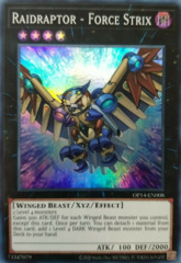 Raidraptor - Force Strix - OP14-EN008 - Super Rare - Unlimited Edition