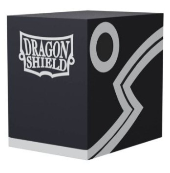 Dragon Shield Double Deck Shell Black Black