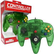 Old Skool N64 Controller Jungle Green