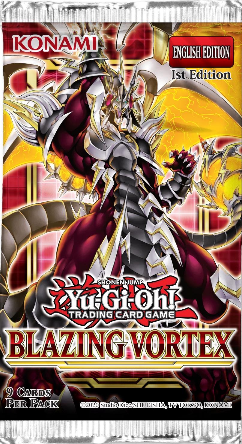 Blazing Vortex 1st Edition Booster Pack
