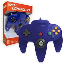 Old Skool N64 Controller Blue