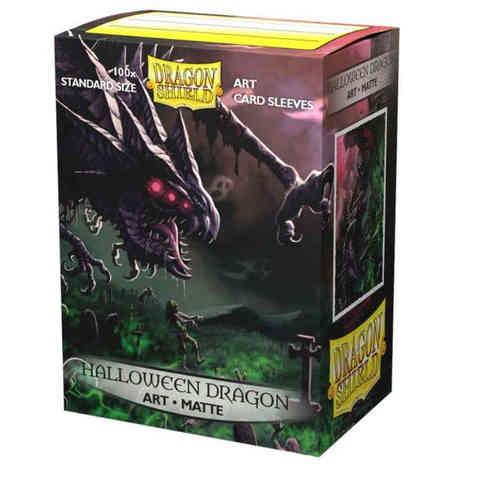 Dragon Shield 100CT Box Art Matte Sleeves Halloween Dragon 2020