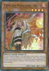 Familiar-Possessed - Hiita (Alternate Art) - SDCH-EN039 - Ultra Rare - 1st Edition