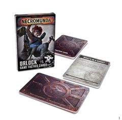 Necromunda: Orlock Gang Tactics Cards