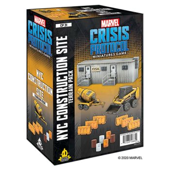 Marvel: Crisis Protocol - NYC Construction Site Terrain Expansion