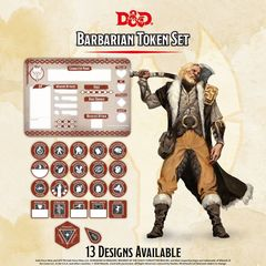 D&D Token Set: Barbarian