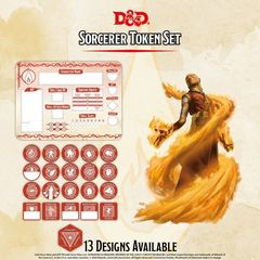 D&D Token Set: Sorcerer