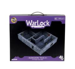 Warlock Tiles: Dungeon Tiles II – Full Height Stone Walls