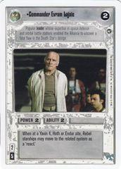 Commander Evram Lajaie - Unlimited Edition - Common