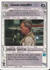 Commander Vanden Willard - Unlimited Edition - Uncommon