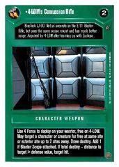 4-LOM's Concussion Rifle - Unlimited -Rare