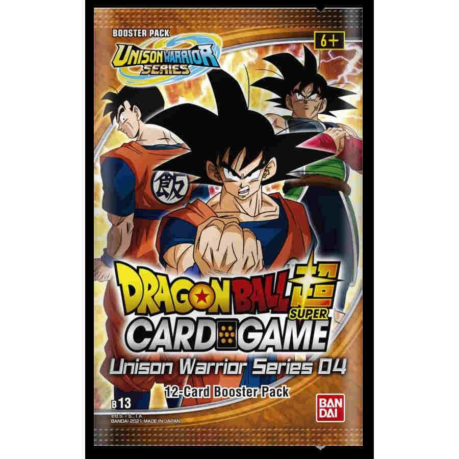 Dragon Ball Super - Unison Warrior Series 4 - Supreme Rivalry Booster Pack