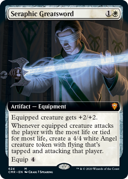 Seraphic Greatsword - Extended Art