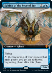 Sphinx of the Second Sun - Extended Art