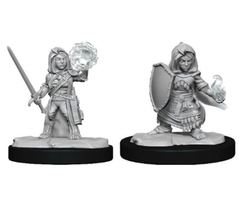 Pathfinder Battles Deep Cuts: Female Halfling Cleric (Wave 14)