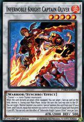 Infernoble Knight Captain Oliver - PHRA-EN038 - Super Rare - 1st Edition