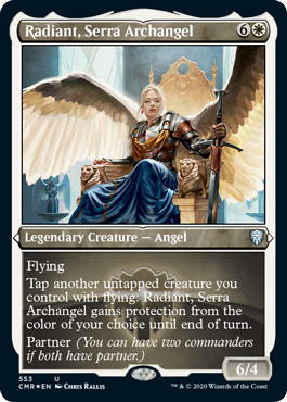 Radiant, Serra Archangel - Foil Etched