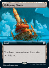 Reliquary Tower - Extended Art