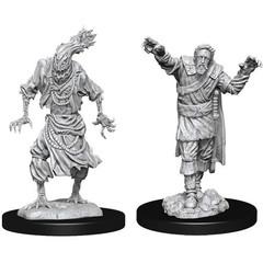 D&D Nolzur's Marvelous Unpainted Miniatures: W14 Scarecrow & Stone Cursed