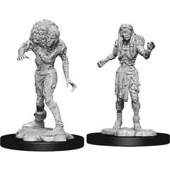 D&D Nolzur's Marvelous Unpainted Miniatures: W14 Drowned Assassin & Drowned Asetic