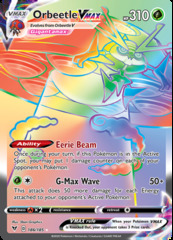 Orbeetle VMAX - 186/185 - Secret Rare