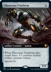 Phyrexian Triniform - Foil - Extended Art