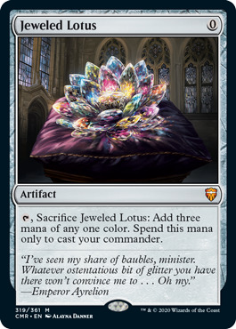 Jeweled Lotus - Foil