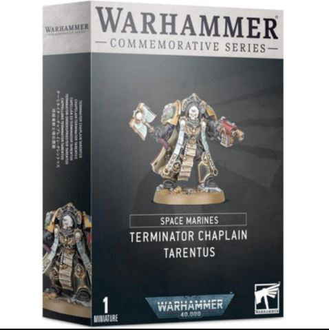 Space Marines - Terminator Chaplain Tarentus