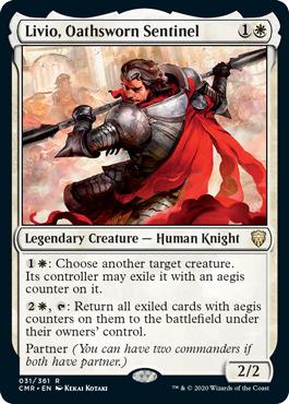 Livio, Oathsworn Sentinel