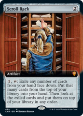 Scroll Rack - Extended Art