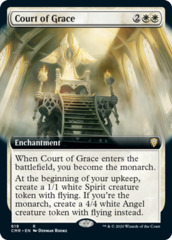 Court of Grace - Foil - Extended Art